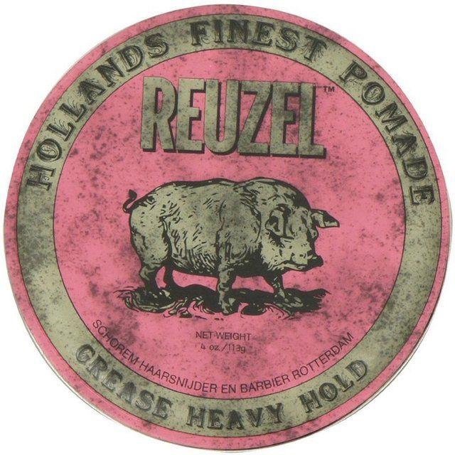 Pomada Reuzel Rosa Heavy Hold Grease 113g