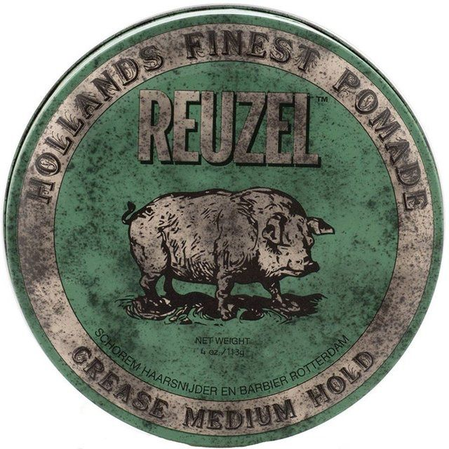 Pomada Reuzel Verde Medium Hold Grease 113g