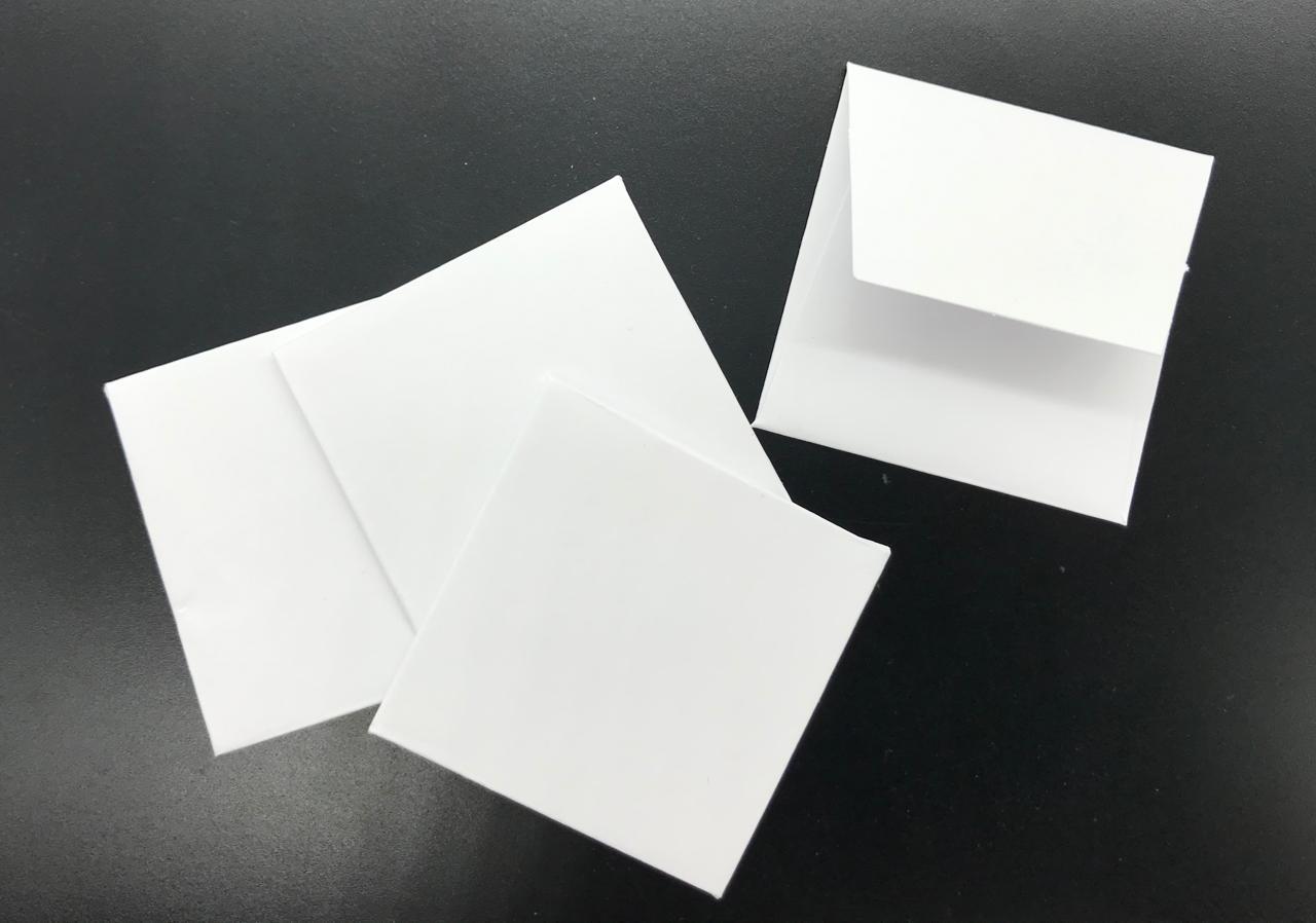 100 Envelopes para moedas