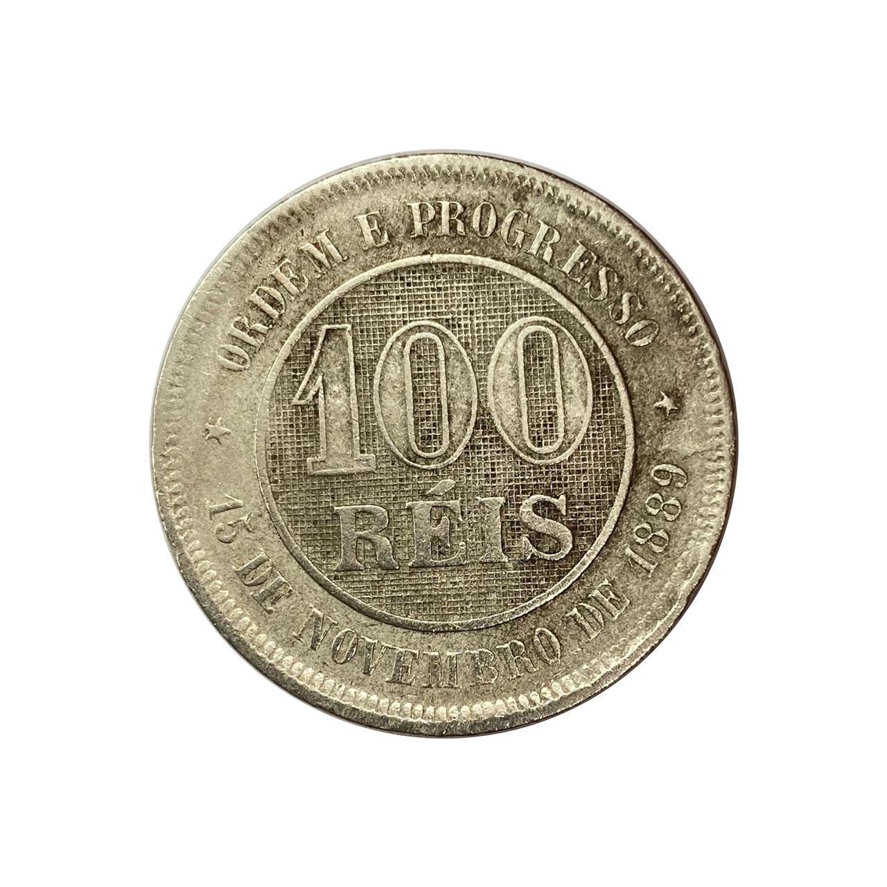 100 Réis 1889 MBC