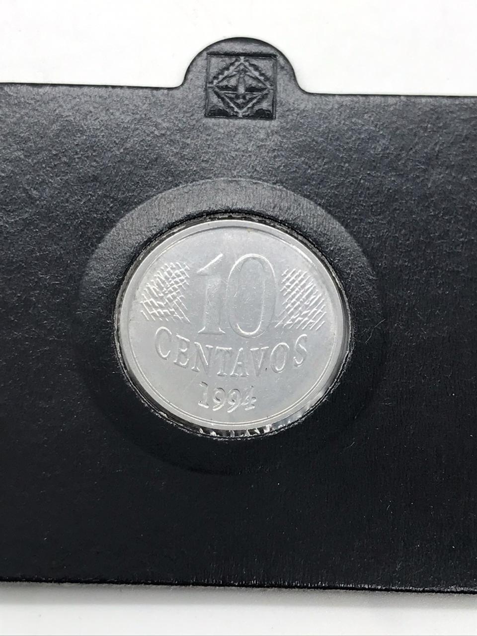 10 centavos 1994 reverso invertido