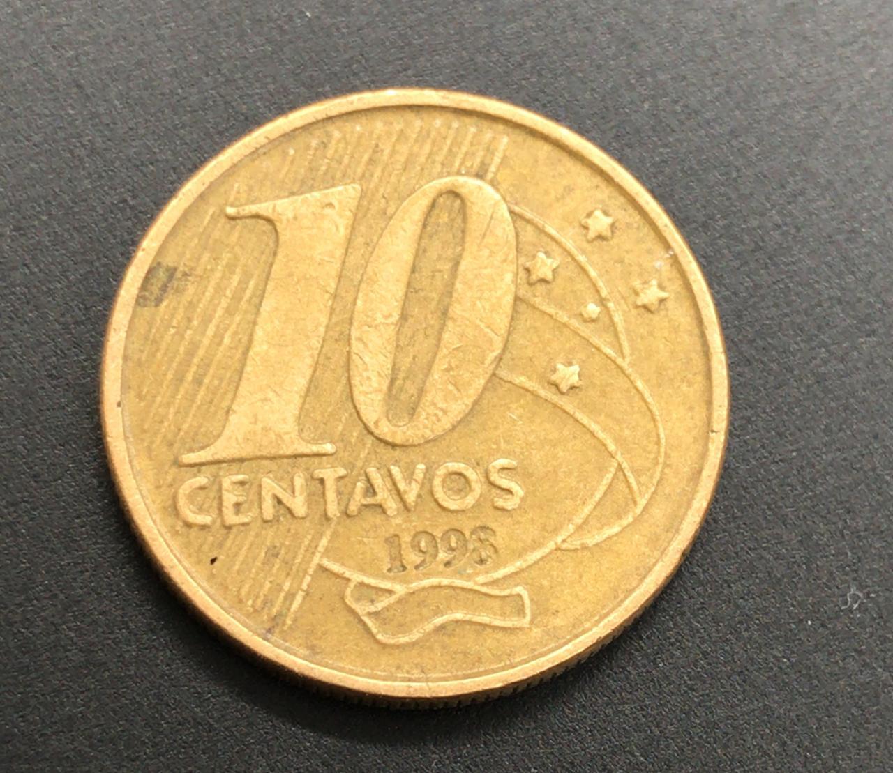 10 Centavos 1998 MBC