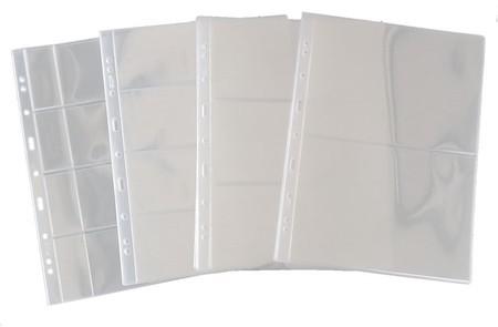 10 Folhas para Cédulas Acetato (PCCB)