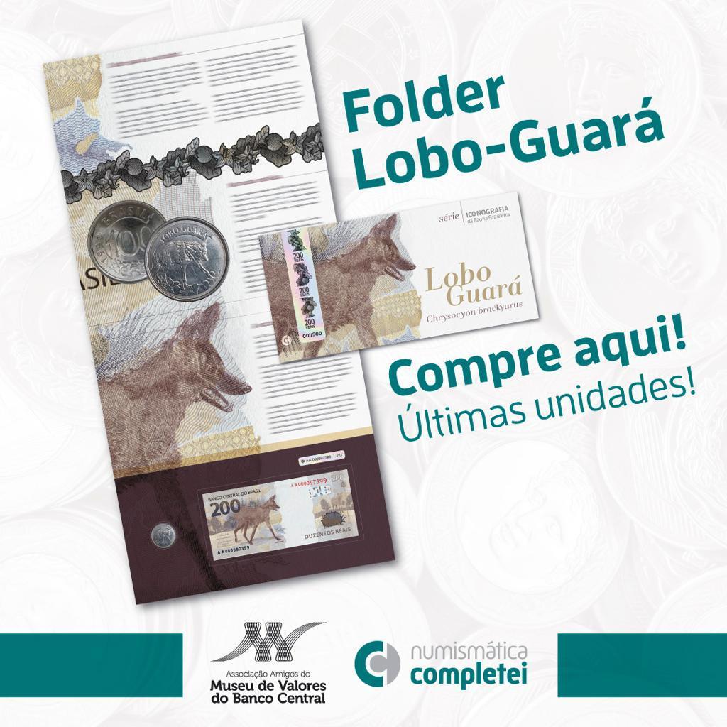 pré-venda folder lobo-guará