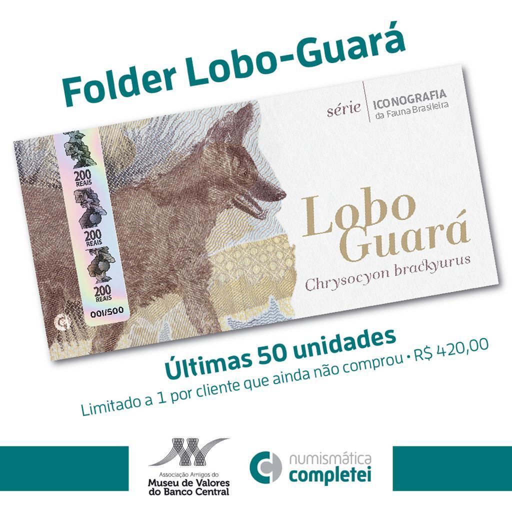 envio dos folders lobo-guará