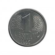 Moeda Brasil 1 Centavo 1996 MBC