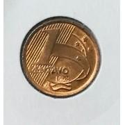 1 centavo 1998 FC em coin holder leuchtturm