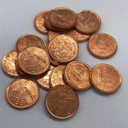 Moeda 1 Centavo 2002 sob  com risco