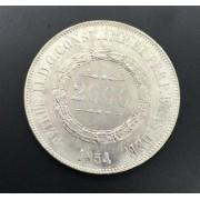 2000 reis 1854 prata