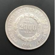 2000 reis 1864 prata