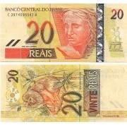 20 Reais Guido Mantega/Tombini FE(C 308)  1ª Família do REAL