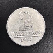 2 CRUZEIROS 1958 ALUMINIO  FC