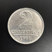 2 CRUZEIROS 1960 ALUMINIO  FC