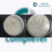 50 CENTAVOS 1957 - BONÉ