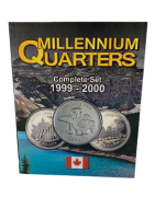 Álbum Millennium Quarters Canadá  1999-2000