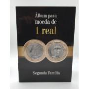 Álbum para moedas de 1 Real
