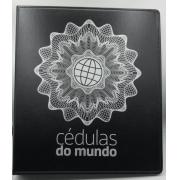 Álbum tipo Fichário para Cédulas do Mundo