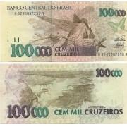 C299-100.000 Cem Mil Cruzeiros 1993 FE