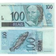 C329  CÉDULA 100 REAIS Guido/Henrique . FE