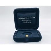 Caixinha Oficial Banco Central do Brasil para Moeda de ouro Sesquicentenário da Independência