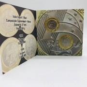 Casal de moedas de 1 Real - baixa tiragem (1998-1999)
