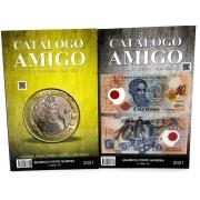 Catálogo Amigo: Moedas e Cédulas Brasileiras- 3ª Edição 2021