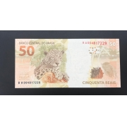 Cédula Brasil 50 Reais BA (Mantega/Meirelles) FE