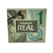 Cédula de 1 Real + Folder Explicativo