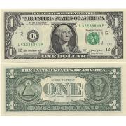 Cédula EUA 1 Dólar FE