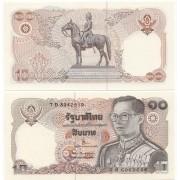 Cédula Tailândia 20 Baht Nd  FE