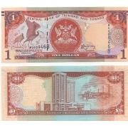 Cédula Trindad e Tobago 1 Dollar FE
