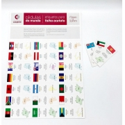 Etiquetas Cédulas do Mundo