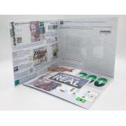 Folder Encarte para Cédula de 200 Reais - 2ª Família