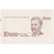 Folder- Oficial da Casa da Moeda do Brasil  10 000  Dez Mil Cruzeiros Vital Brasil