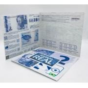 Folder Vazio para cédula de 2 reais Segunda Família