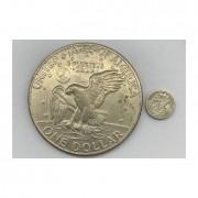 Mini Moeda One Dollar 1972  (Conjunto)