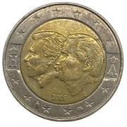 Moeda 2 Euros  Bélgica 2 euro, 2005 União Económica Belgo-Luxemburguesa