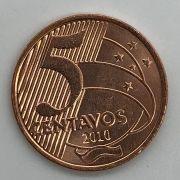 Moeda 5 Centavos 2010 (FC)