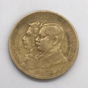 Moeda Brasil1000 Réis 1922 Centenário da Independência MBC