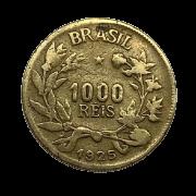 Moeda Brasil 1000 Réis1925 MBC