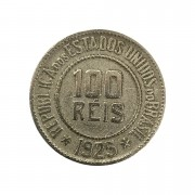Moeda Brasil 100 Réis 1925 MBC