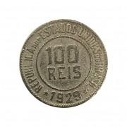 Moeda Brasil 100 Réis 1929 MBC