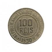 Moeda Brasil 100 Réis 1930 MBC