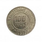 Moeda Brasil 100 Réis 1931 MBC
