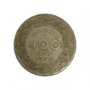 Moeda Brasil 100 Réis 1940 Getúlio Vargas MBC