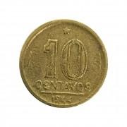 Moeda Brasil 10 Centavos 1944 Getúlio Vargas MBC