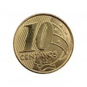 Moeda Brasil 10 Centavos 2020 FC