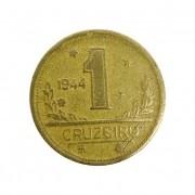 Moeda Brasil 1 Cruzeiro 1944 MBC