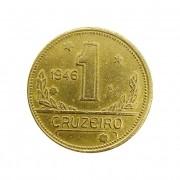 Moeda Brasil 1 Cruzeiro 1946 MBC