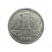 Moeda Brasil 1 Cruzeiro 1958 FC